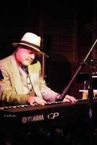 Don Hardy at the piano